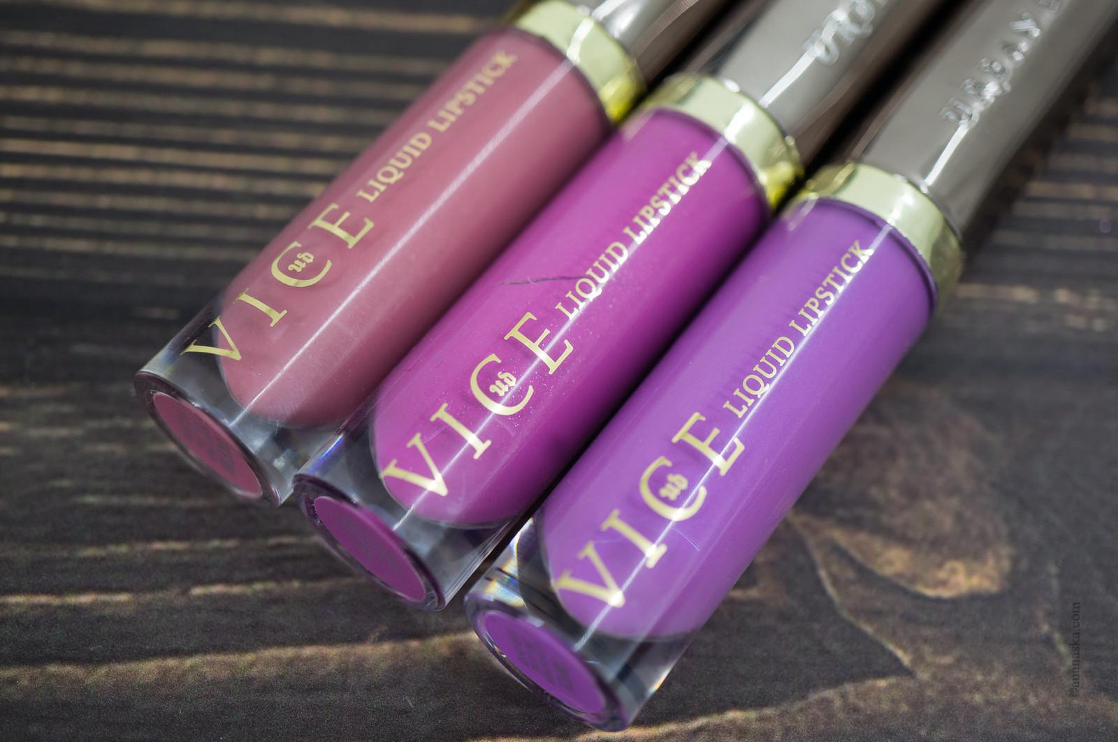 Urban Decay Vice Liquid Lipstick