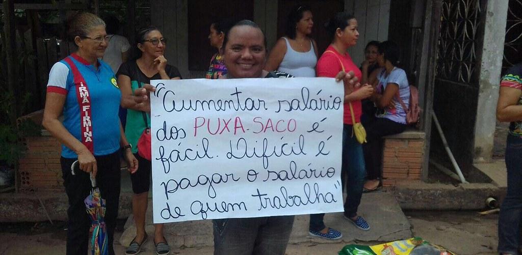 protesto em Óbidos