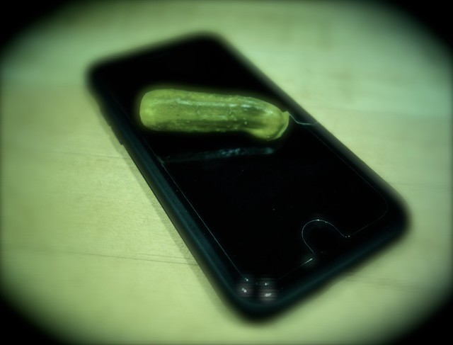 Am I Dreaming or is that Really a Pickle on My iPhone?