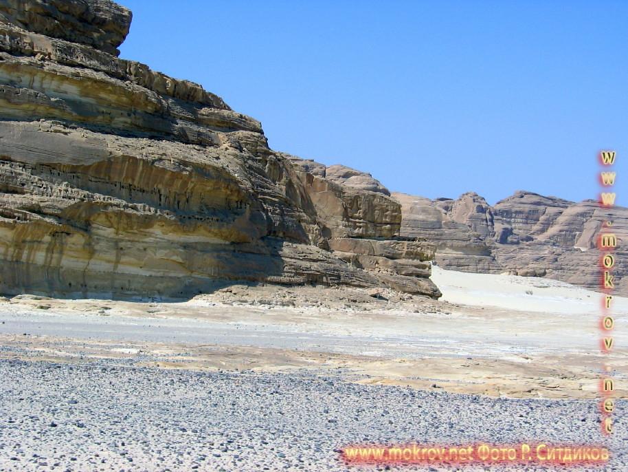 Египет, Синайская пустыня, белый каньон.