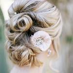 Wedding Hairstyles : twisted wedding updo hairstyle via The Leekers - Deer Pearl Flowers / www.deerpe...