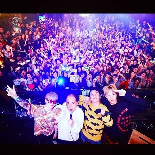 [Instagram] ⅅᎫ ᎶℒᎾℛᎽ✖️Natural High Record (djglory) 福岡での幸せな思い出. 公演に一緒にしてくださった方達を本当にありがとうございます🙏🙏😁 Fukuoka Japan🙌 . A happy memory in Japan🙌 Thank u so much🙏 . #DJGlory #Tpa #GT #Seungri #N