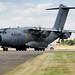 A400M At Farnborough.