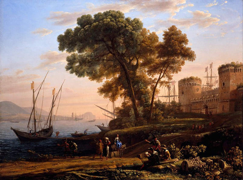 Claude Lorrain - An Artist Studying from Nature