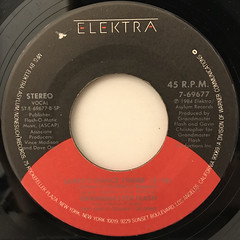 GRANDMASTER FLASH:SIGN OF THE TIMES(LABEL SIDE-B)