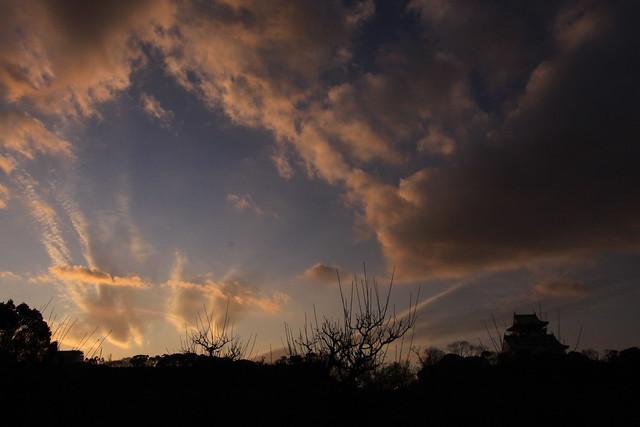 大阪城-10-狂乱雲3, Canon EOS 50D, Canon EF-S 10-22mm f/3.5-4.5 USM