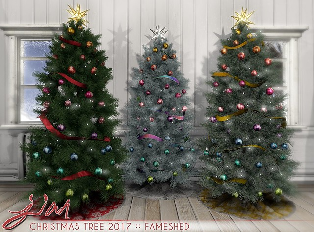 JIAN Christmas Tree 2017 ( FaMESHed December)