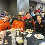 Jan Calles, Josh Banton, Harry Coles, Kyle Hutton