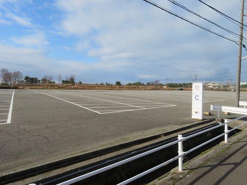 金沢競馬場のC駐車場