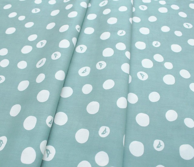 Birch Fabrics Basics Birch Dot in Mineral