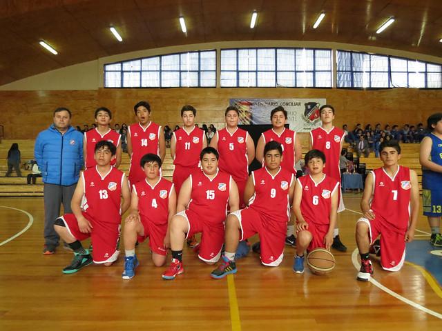 2017 - Cuadrangular de Basquetbol