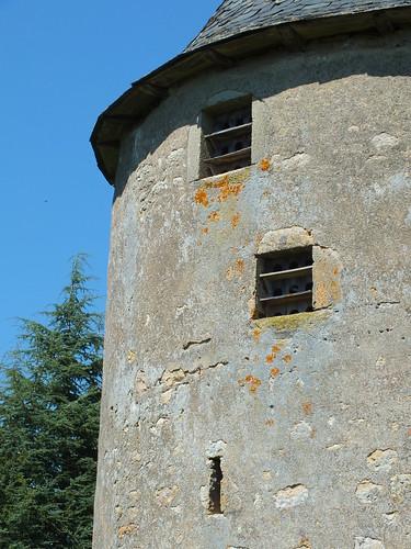 Laramière - Ancien Moulin à vent du Prieuré