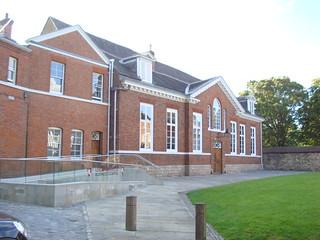 The Leicester Castle Business School building
