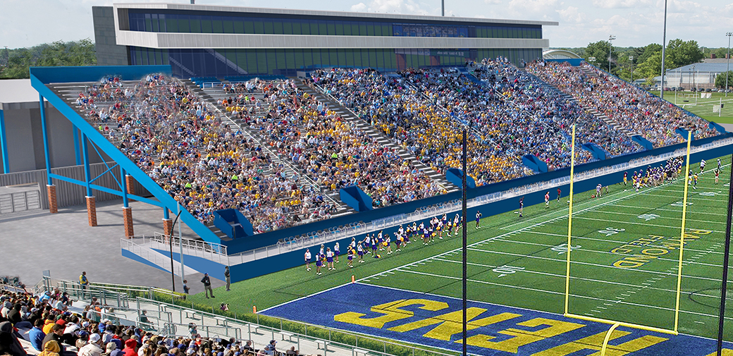 University announces renovation and expansion plans for Delaware Athletics