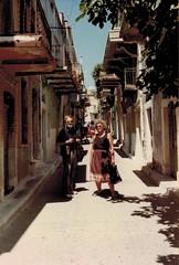 Pyrgi, Chios juli 1982