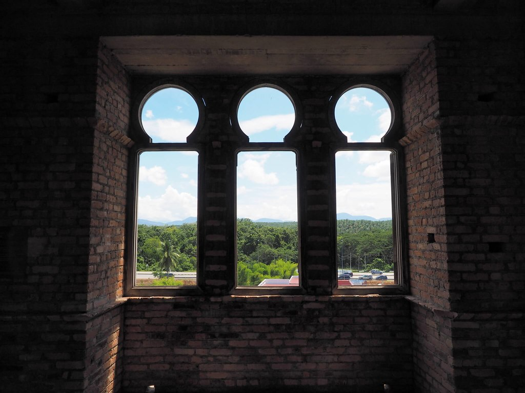 The triple window in Kellie's Castle