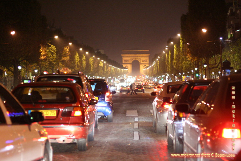 Город Париж, столица Франции фото