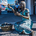 2017 - Mexico - Colima - Bronze Street Vendor por Ted's photos - For Me & You
