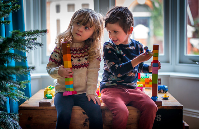 Twins and Lego
