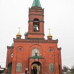 Божественная литургия в престольный праздник в Михаило-Архангельском  храме города Крымска