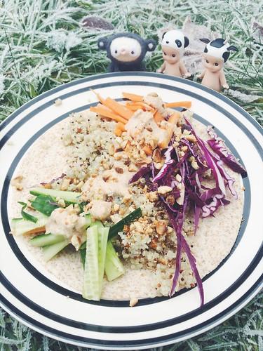 årstiderna organic vegan food box, october - november 2017 -