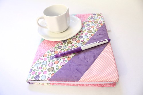Pink Print Grid Paper Journal