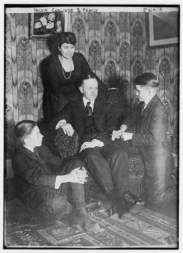 Calvin Coolidge & family (LOC)