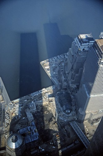 World Trade Center Shadows - 1985