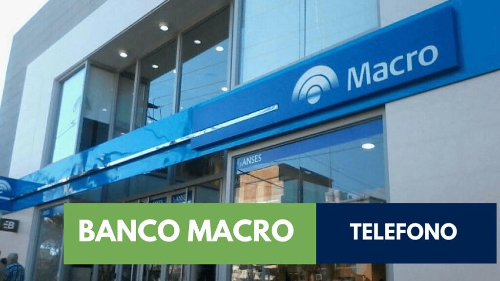 0800 telefono banco macro atencion al cliente for Numero del banco exterior