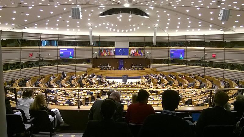 kelionė į Europos parlamentą