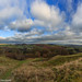View North from Burrow Hill Fort by Jon Derricott