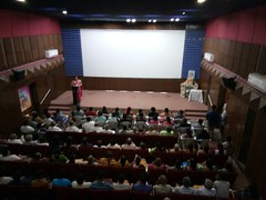 Eknathji - One Life One Mission - film show at Hyderabad