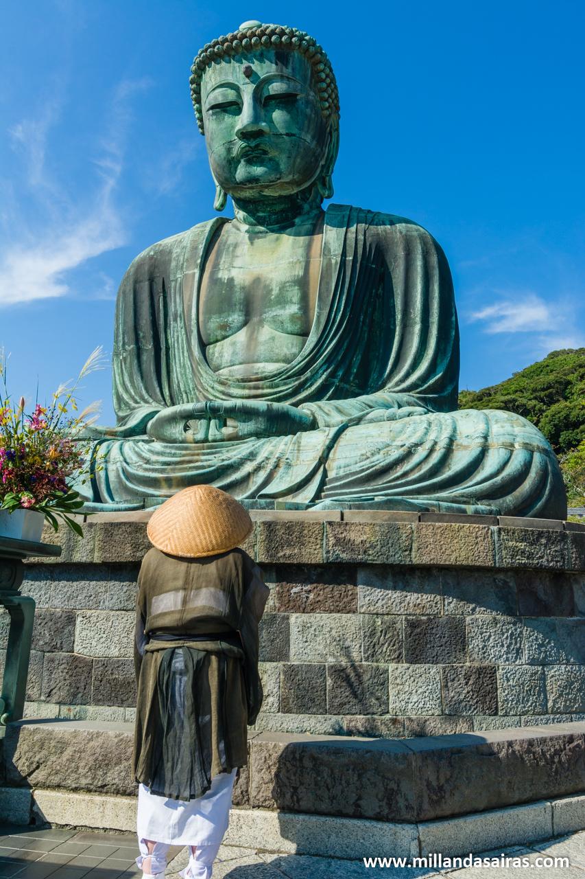 Daibutsu, buda del templo Kōtoku-in, en Kamakura