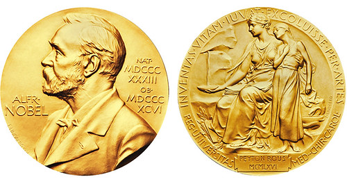 Nobel Prize medal for Physiology or Medicine