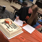 Brooklyn Golt signing letter of intent (photo submitted)