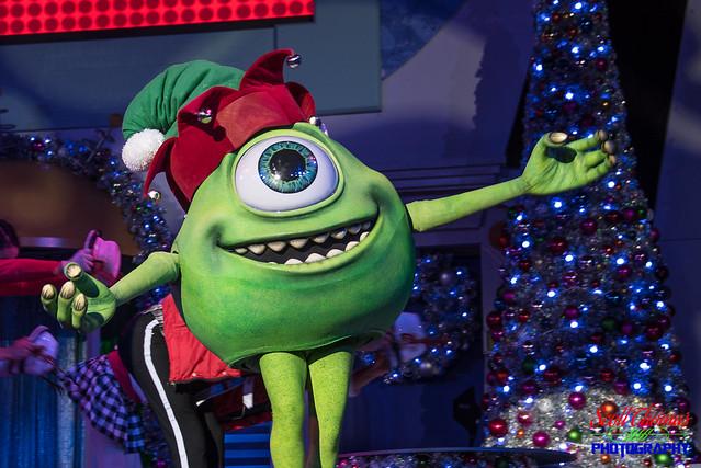 Holiday Mike Wazowski