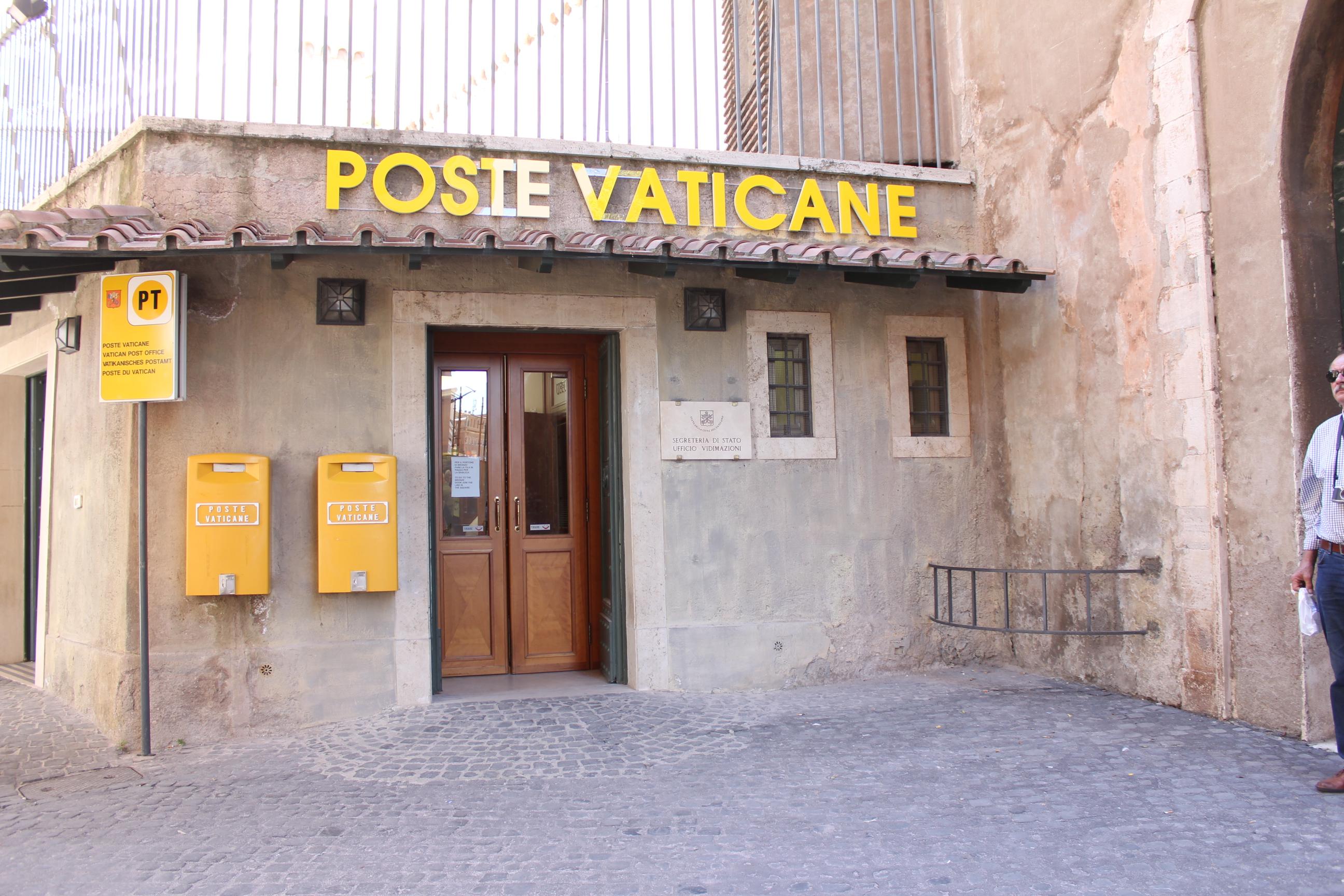 Poste Vaticane. Photo taken on October 17, 2013.