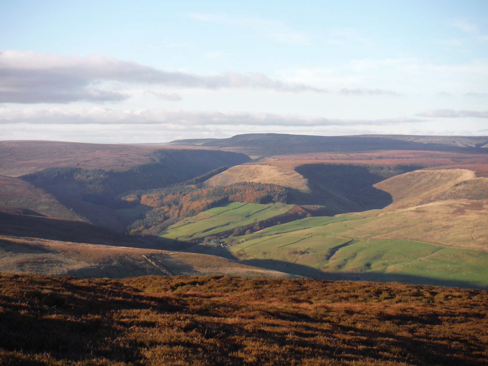 Lady Clough and Birchin Clough SWC Walk 304 - Kinder Scout Circuit (from Edale)