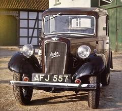 1934 AUSTIN Seven Ruby 2-door Saloon MK2