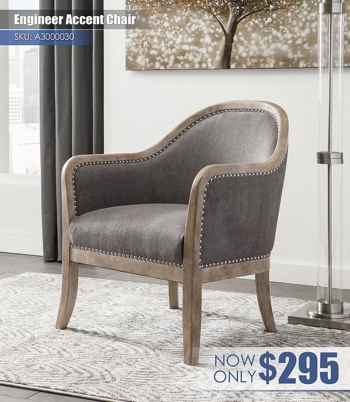 A3000030 - Engineer Accent Chair $295