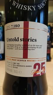 SMWS 7.180 - Untold stories