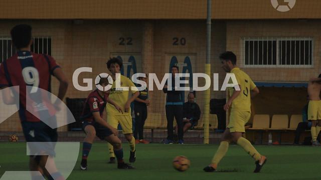 LN Juvenil. Villarreal CF B - Levante UD B (11/11/2017), Jorge Sastriques