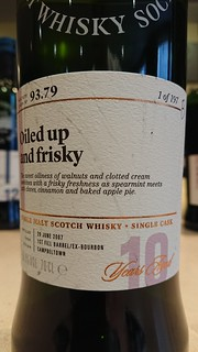 SMWS 93.79 - Oiled up and frisky