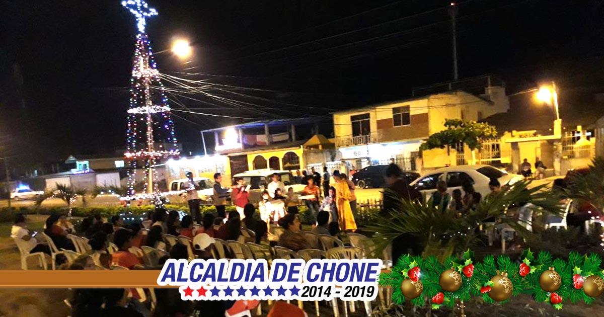 En Ciudadela González se vivió segundo día de Novena Itinerante