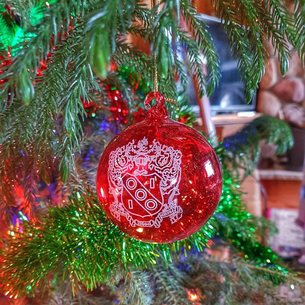 Alpha Gamma Delta Christmas Tree Ornament