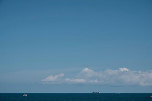 日本海まで200m