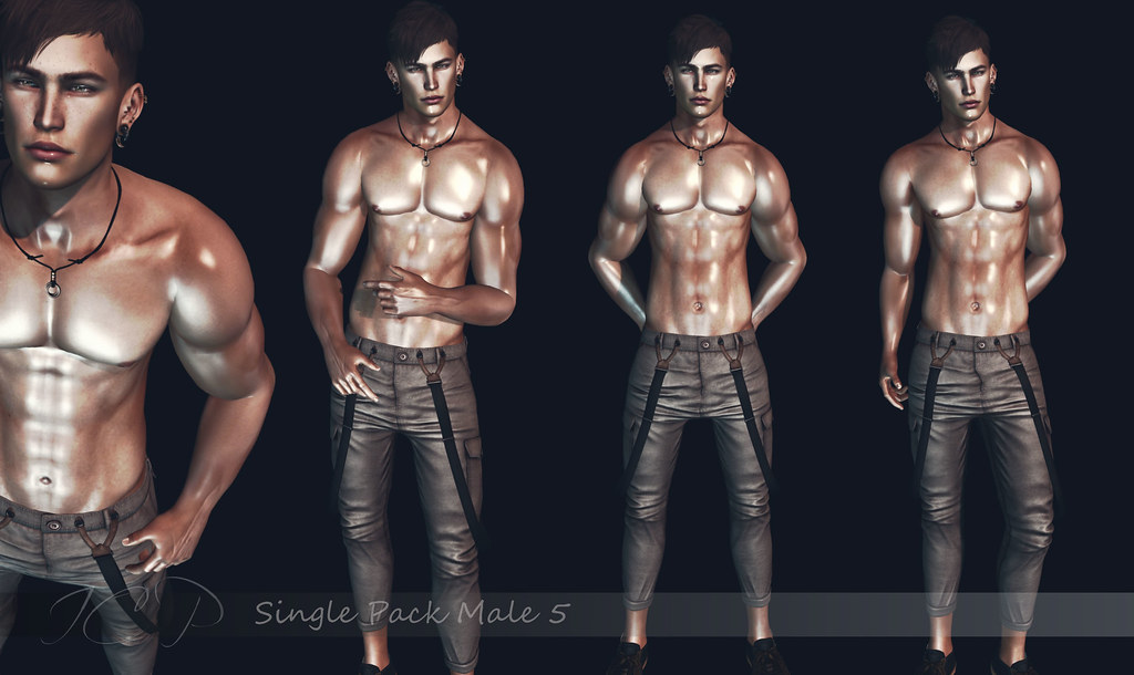 -IC Poses- Single Pack male 5 AD