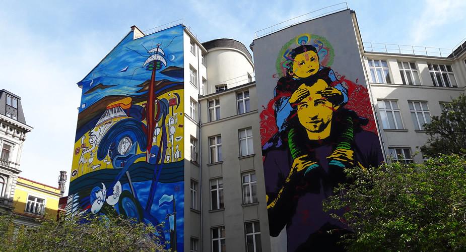 Budgettips Wenen: street art ontdekken in Wenen | Mooistestedentrips.nl
