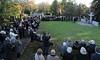 Im Anschluss Gedenkfeier am Denkmal der Vertriebenen auf dem Karlsruher Hauptfriedhof