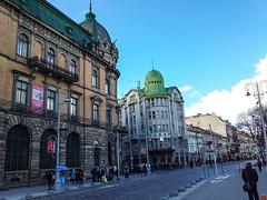 Lviv Svobody Caddesi